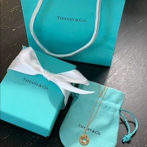 Authentic Tiffany & Co. Atlas necklace